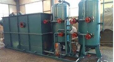 油田污水处理设备由哪几部分构成?